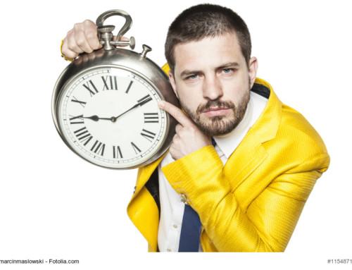 Italienische Pünktlichkeit